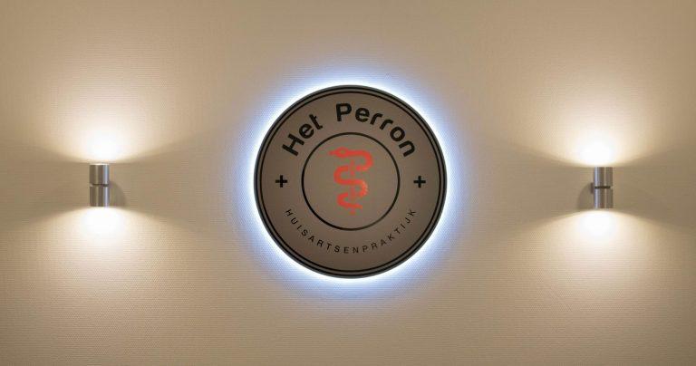 Huisartsenpraktijk <br> Het Perron -  huisstijlen - promotiematerialen -