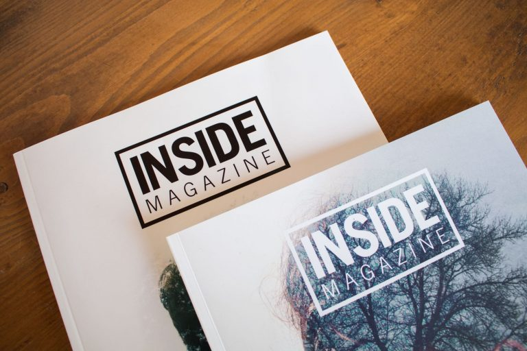 INSIDE magazine -  huisstijlen - magazines - websites -