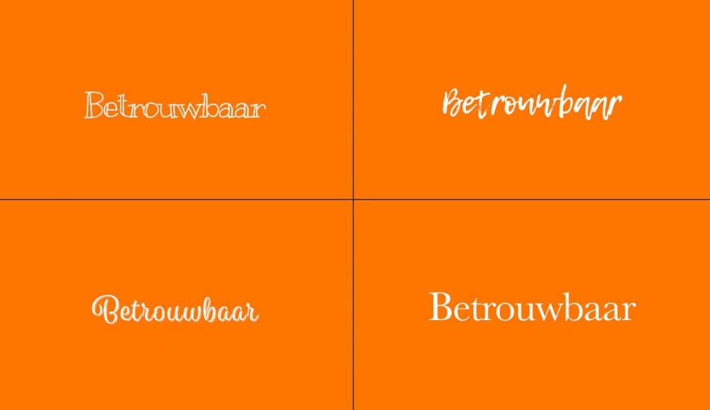 welk lettertype font kies jij?